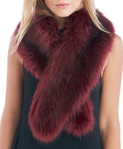 Large Faux Fur Stole