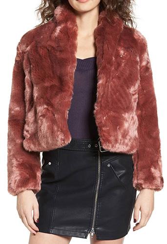 Lana Faux Fur Coat