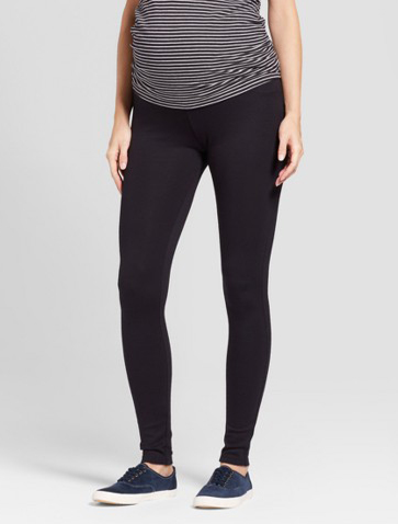 """975f508f94d50 """"These are seriously the best leggings! They are perfect for the beginning  stages of a bump, and I'm hopeful they'll work throughout my pregnancy."""
