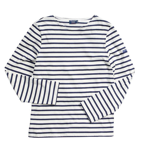 Minquiers Moderne Striped Sailor Shirt