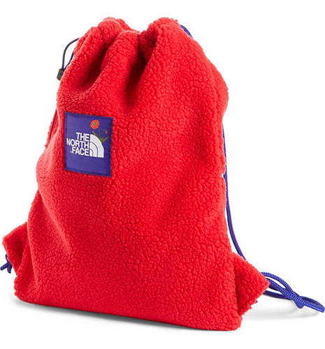 OK Fuzzy Sack Pack Drawstring Bag