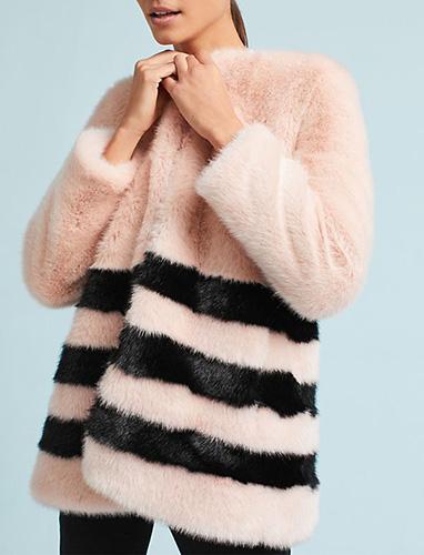 Petite Lucy Faux Fur Jacket