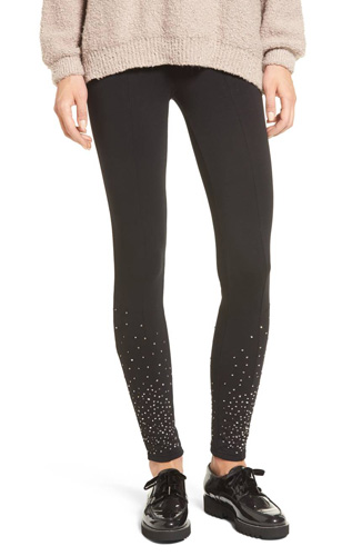 Sequin Embellished Leggings