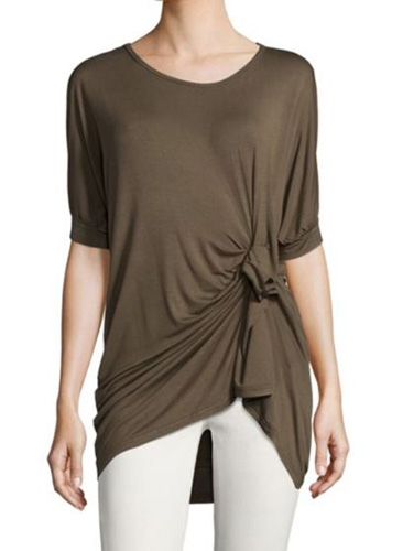Lea & Viola Twist Front Top