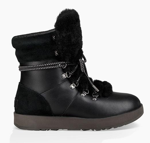 ugg viki black waterproof boots