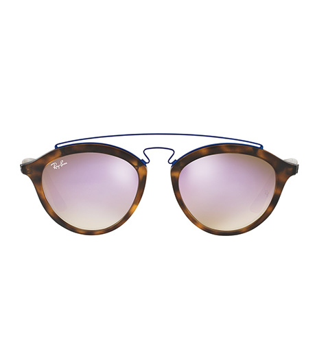 Round Browline Sunglasses