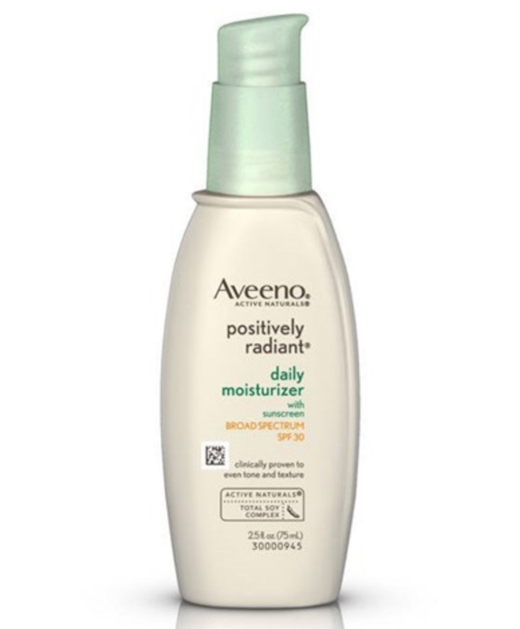 aveeno positively radiant day lotion