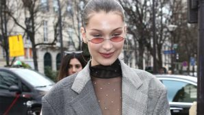 Um, How Bella Hadid Not Have A Wardrobe Malfunction In This See-Through Top?