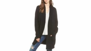 There Are So Many Warm & Cozy Long Cardigans On Sale At Nordstrom Right Now--Stock Up!