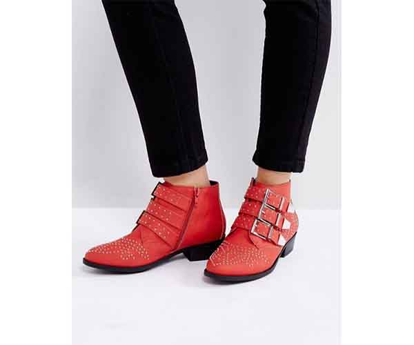 asos buckle boots