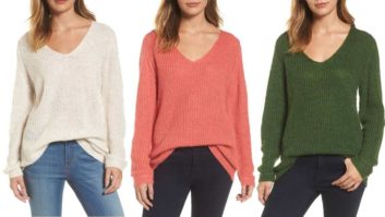 This Is The One Sweater You <em>Need</em> To Buy From Nordstrom's Sale Section Before It's Gone