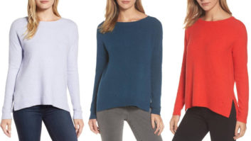 This Crazy Popular $39 Sweater Is Back In Stock At Nordstrom--Snag One Before It Sell Out Again!
