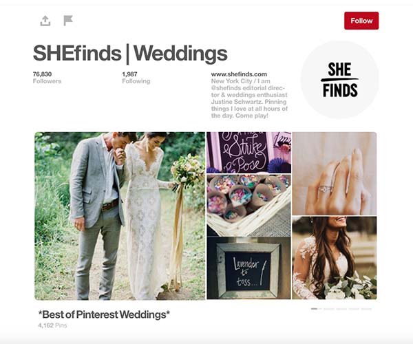 Shefinds site