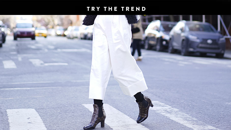 Cropped Wide Leg Pants Are Actually Really Flattering Shop Our Faves Now