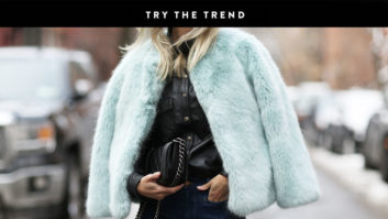 Cure The Winter Blues With One Of These Colorful Faux Fur Coats