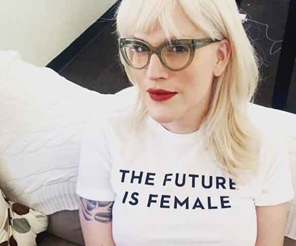 women's movement the future is female t-shirt
