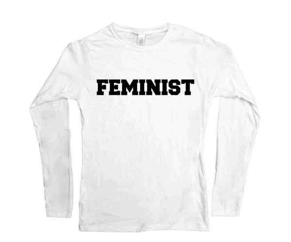 women's movement feminist t-shirt