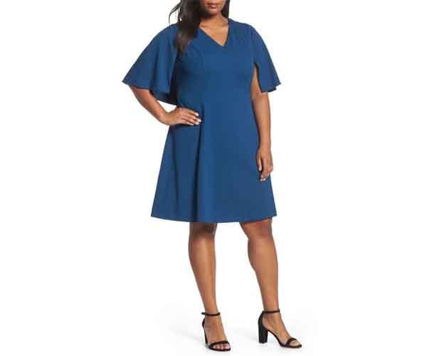Adriana Papell A-Line Dress