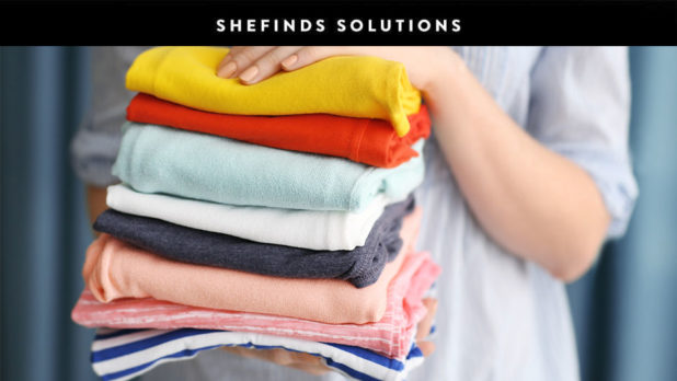 Once And For All, Here's The Right Way To Fold A T-Shirt #SheFindsSolutions