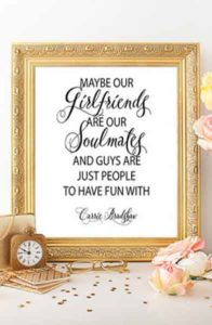galentines day gifts quote