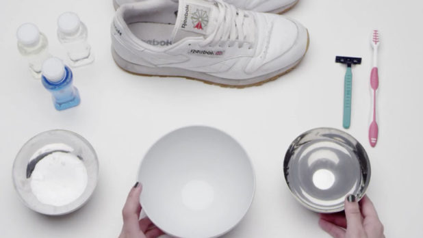 How To Clean White Reebok Classics So They Look Brand New