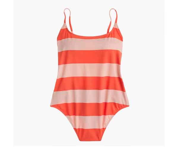 J.Crew Playa printed Newport superscoopback one-piece swimsuit item