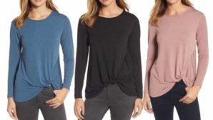 This Flattering $29 Top Is Perfect For Disguising Those Extra Holiday Pounds
