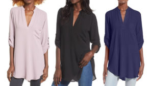 Nordstrom's Bestselling $27 Tunic Is Back In Stock--Grab One Quick Before It Sells Out Again