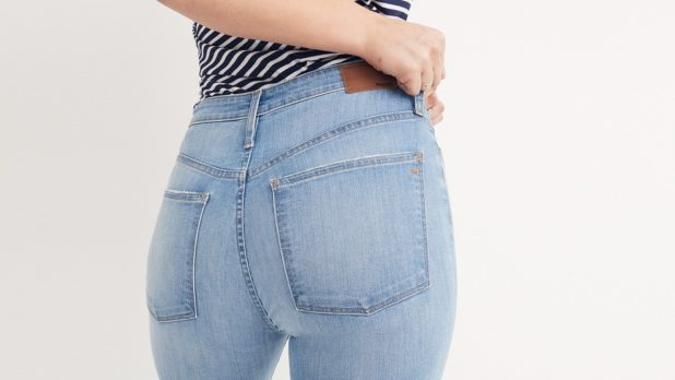 Madewell's Spring 2018 Denim Collection Includes Expanded Sizing--They Now Offer Jeans Up To A Size 35!