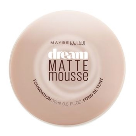 maybelline dream mousse foundation