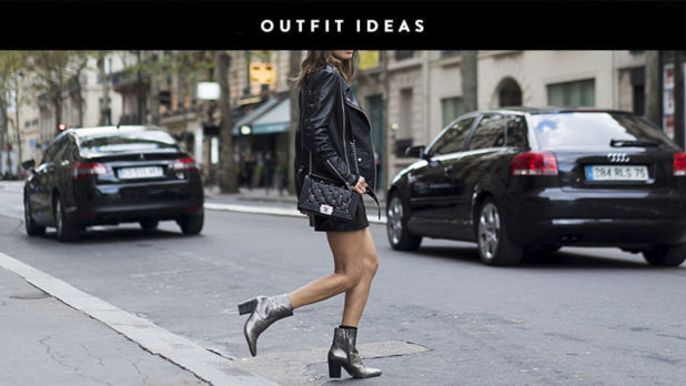 Here's How To Wear Metallic Booties Like A Style Blogger