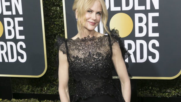 People Are Mad At Nicole Kidman For Her Golden Globes Acceptance Speech