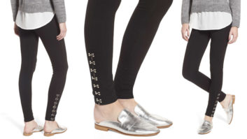 Nordstrom Just Put The Coolest Pair Of Black Leggings On Sale--Get A Pair ASAP!