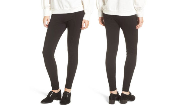 Order A Pair Of These Bestselling, Super Slimming Black Leggings From Nordstrom While They're On Sale