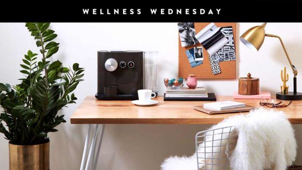 Here's How To Organize Your Desk For Maximum Productivity #WellnessWednesday
