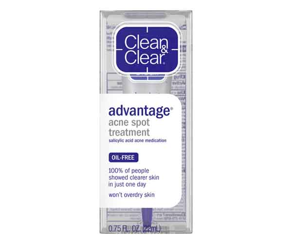 clean and clear acne spot treatment