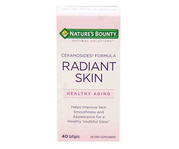 nature's bounty skin vitamins