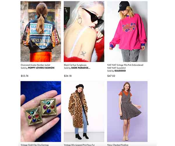 asos consignment shop and sell