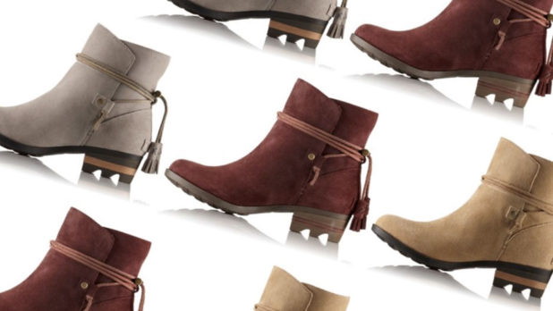 Psst! These Gorgeous (Waterproof!) Suede SOREL Booties Are 50% Off Right Now
