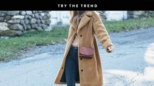 Keep Warm This Season In Stylish & Cozy Teddy Coats