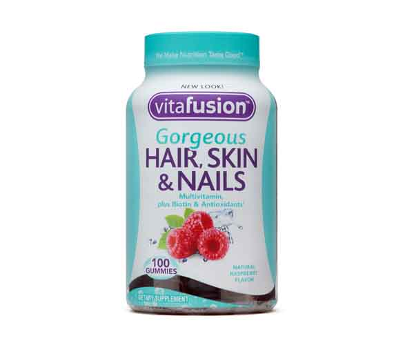 vitafusion hair skin nails vitamins