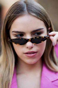 2018 trends tiny sunglasses