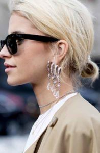 statement earrings 2018 trends