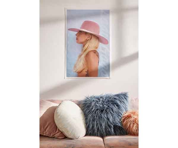 urban outfitters spring 2018 collection lady gaga poster