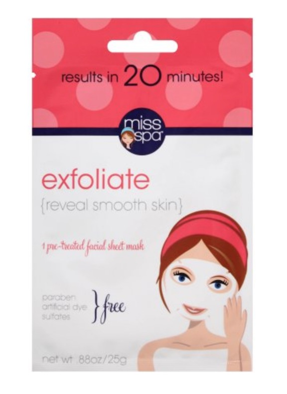 miss spa face mask