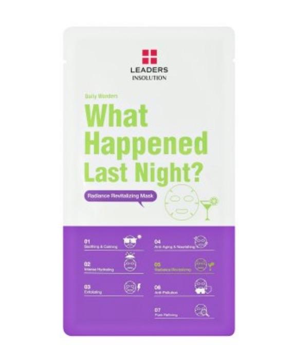 Leaders Cosmetics Daily Wonders What Happened Last Night? Mask