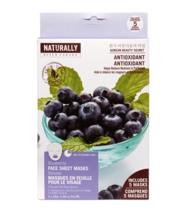 Naturally Blueberry Sheet Mask