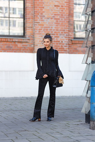 56850f678d9 Put These Velvet Outfit Ideas In Your Winter Rotation ASAP - SHEfinds