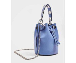 zara sale blue purse