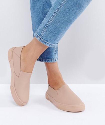 asos slip-on sneakers